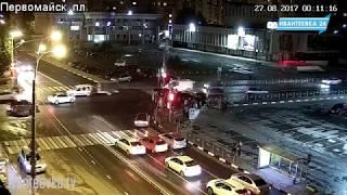 Ночное ДТП в Ивантеевке 27.08.17.
