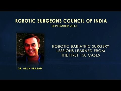 Robotic Bariatric Surgery Lessons Learned From the First 150 Cases