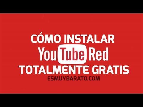 Cómo instalar YouTube RED totalmente gratis. Funcionando abril 2018