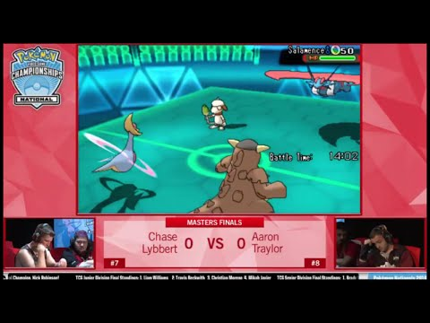 VGC 2016 Pokémon USA National Finals: Chase Lybbert Vs Aaron Traylor