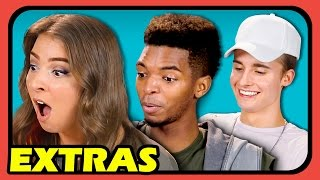 EXTRA REACTIONS - YouTubers React to Chair Flip Challenge (Extras #100)