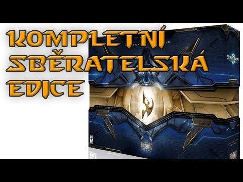 Unboxing Starcraft II: LoV + komplet všechny SC2 sběratelky