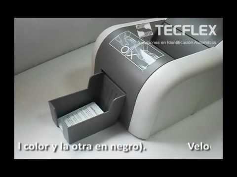 Impresión de fotochecks/PVC - Hiti CS200e - www.tecflex.com