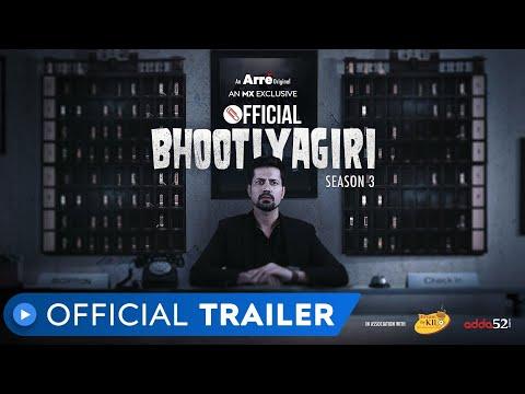Official Bhootiyagiri Season 3   Official Trailer   Sumeet Vyas   Arré Original Series   MX Player