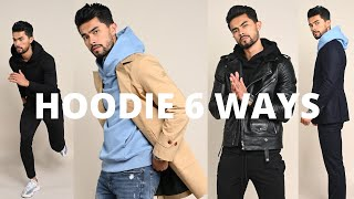 How To Wear A Hoodie 6 Ways | New Modern Ways