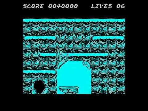 Gryzor Walkthrough, ZX Spectrum