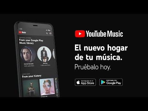 Cómo prepararte para el cierre de Google Play Music