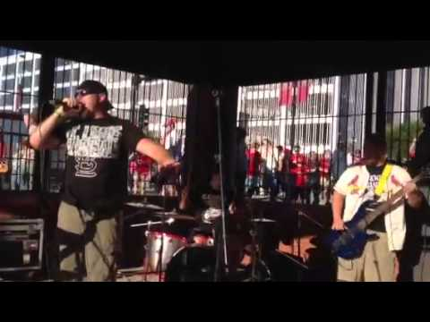 Halo by Blackwater Basin Live at Busch Stadium 7/24/13