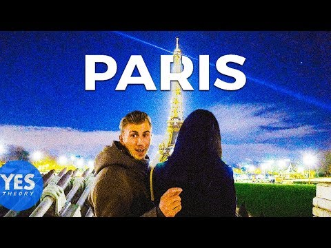 ASKING MY CRUSH TO FLY TO PARIS FOR DREAM DATE
