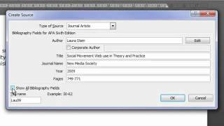 Tutorial 1 Referencing in Word 2010.mp4