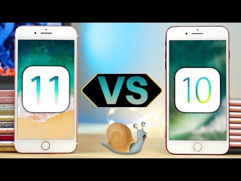 iOS 11 Beta 1 vs iOS 10.3.2: lo speed test definitivo