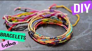 DIY┋BRACELETS EN PERLES MIYUKI BOHO - Stacked Beaded Bracelets, DIY Francais