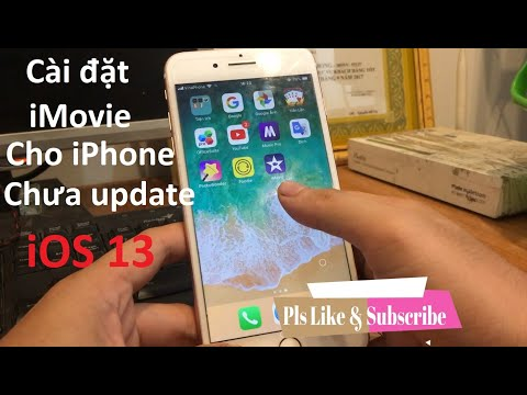 📲003 • Cài đặt Miễn Phí iMovie(iOS 12), VivaVideo Pro cho iPhone
