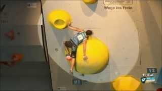 IFSC Boulder World Cup 2014 - Hard Boulder Moves 1