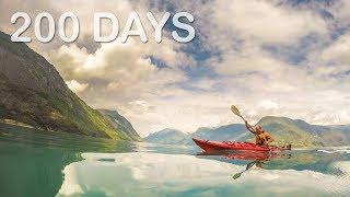 Gambar cover 200 Days Around the World - World Discovery Travel Documentary 2017