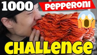 1000 Pepperoni Slices Eating Challenge | Matt Stonie, Leah Shutkever, Bandlands Chugs