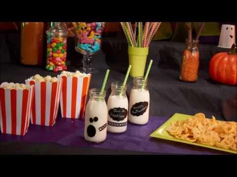 Kinder-Gläser DIY Tutorial für Halloween