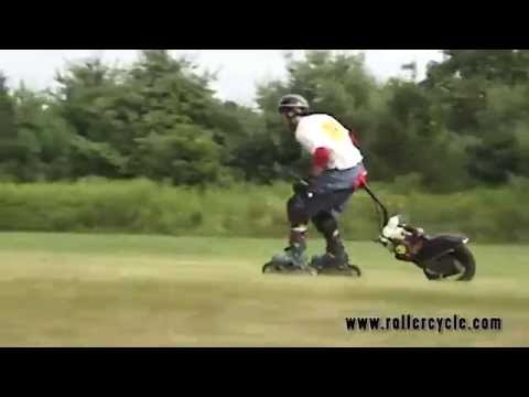 Roller Cycle on Grass (Full Video)