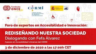 Rediseñando nuestra sociedad: Dialogando con Fefa Álvarez