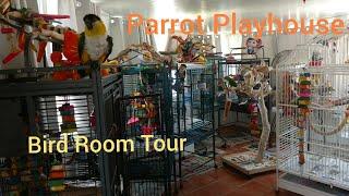 Bird Room Tour!!