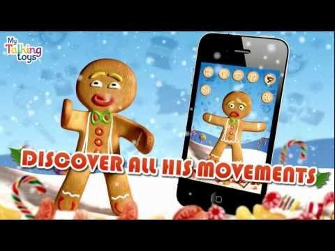 Video of Talking Gingerbread Man Free