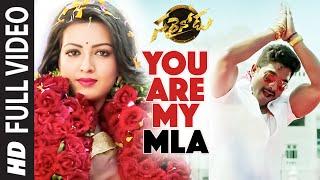 You Are My MLA Song Lyrics - Sarrainodu