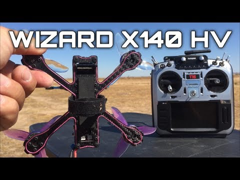 Test Flight Review Eachine Wizard X140HV