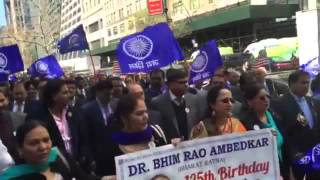 Bhim jayanti 2016 in New York(us)