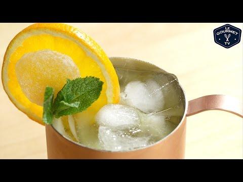 Video Orange Mule Cocktail Recipe - Le Gourmet TV 4K