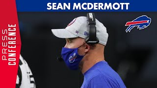 Sean McDermott Says Bills Have No Positive COVID Tests As We Speak | Buffalo Bills