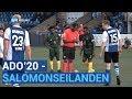 ADO'20 - Salomonseilanden: interlandvoetbal in Heemskerk