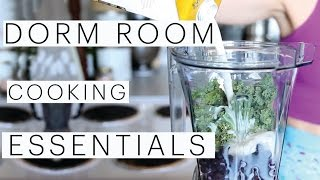 BACK-TO-SCHOOL DORM ROOM ESSENTIALS | Rice Cooker | Mini Fridge | Electric Kettle | The Edgy Veg