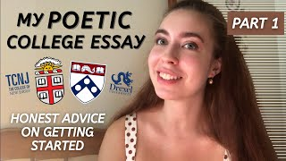 Reading My Ivy League Common App Essay | How to be Creative and Genuine