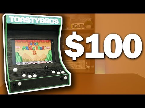 ULTIMATE $100 Arcade Cabinet Build
