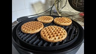 Waffles From Frozen NuWave Primo Grill Oven