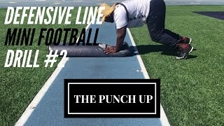 THE PUNCH UP – Defensive Line Drill #1 – American Football Drills