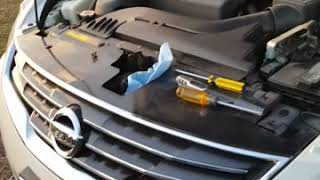 How to unlock Nissan altima transmission  dipstick
