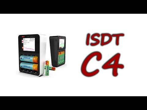 ISDT C4 8A Charger for 18650/AA/AAA from Banggood