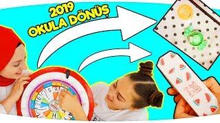 OKULA DÖNÜŞ 2019 - NE ÇIKARSA AL ÇARKIFELEK Challenge!!  I'll Buy Whatever You Spin! Back to School