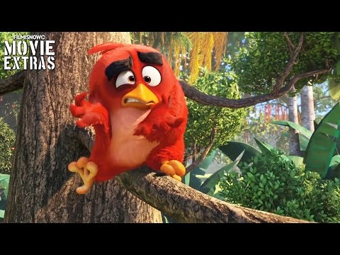 The Angry Birds Movie 'Birds vs Pigs and Characters' Featurettes (2016)