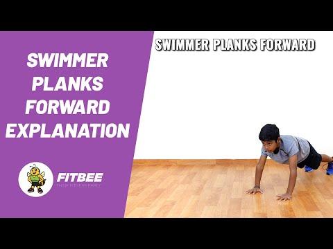 Swimmer Plank