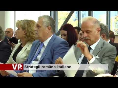 Strategii româno-italiene