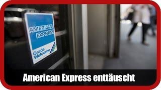 AMERICAN EXPRESS CO. - Marktüberblick: American Express verdient weniger als erwartet