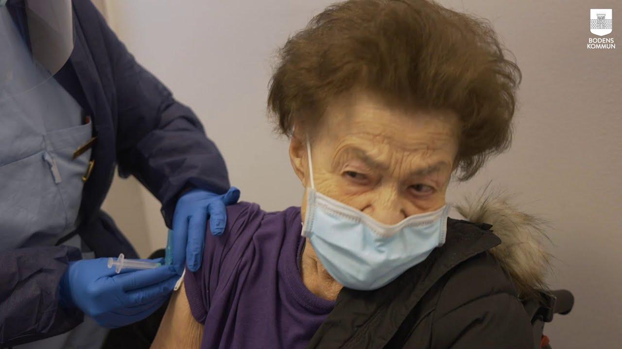 Vaccination mot Covid-19 pågår