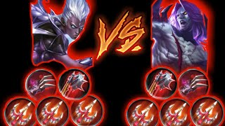 Karrie max lifesteal vs Moscow max lifesteal - Mobile legends