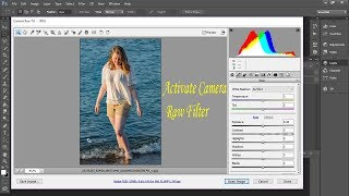 How to Enable Camera Raw Setting in Photoshop Cs6