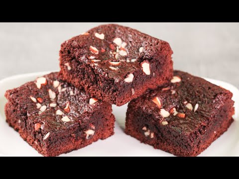 NO OVEN WHOLE WHEAT BROWNIE | EGGLESS ATTA BROWNIE | WITHOUT OVEN | N'Oven