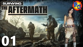 Let's Play Surviving the Aftermath | Steam Release Gameplay Episode 1 | Getting Started (P+J)