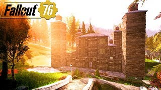 BUILDING THE BIGGEST MEDIEVAL FORTRESS IN FALLOUT 76: Best Bases & Locations - Fallout 76  Gameplay