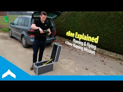 eBee Explained — Planning & Flying A Drone Mapping Mission